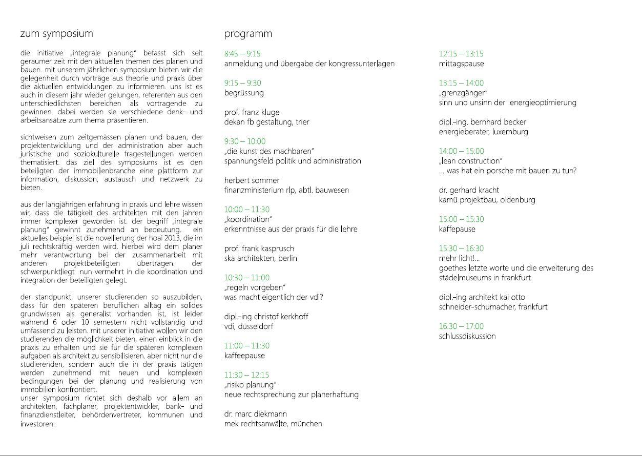 02-Integrale Planung 2013